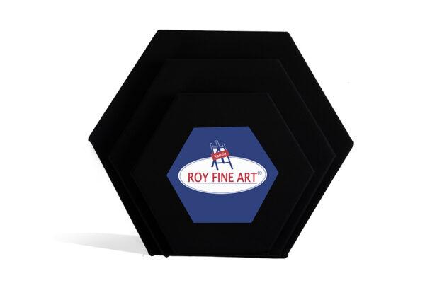 Hexagon Black (3)